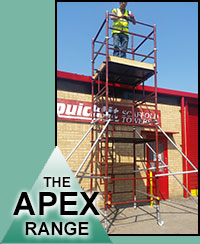 The Apex scaffold tower range